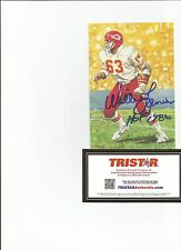 Kansas City Chiefs Hall of Famer Willie Lanier Goal Line Art Card - Tristar CO