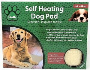 Crufts The Kennel Club Self Heating Thermal Dog Pad Mat