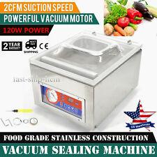 """22"""" Digital Vacuum Packing Sealing Machine Sealer 120W Food Industrial Packaging"""