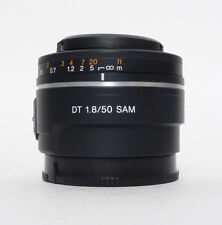 Sony DT 50mm F1.8 SAM Lens A Mount lens