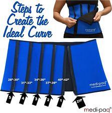 Slimming Belt Women Men Posture Support Waist Trimmer Shapewear Adjustable UK