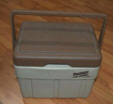 Roadster car cooler by iGloo tan brown Mint Condition EUC  Vintage Cooler