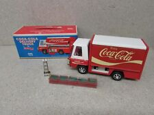 VINTAGE ANTIQUE COCA-COLA DELIVERY METAL STEEL TRUCK W/ CASES BUDDY L JR #5117