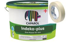 CAPAROL Indeko plus weiß 12,5L / + 1 Rolle Gratis / SCHNELLER VERSAND