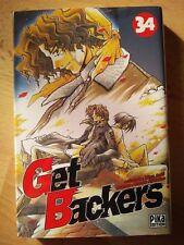 """Manga """"Get Backers"""" T34 *Rare*"""