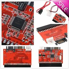 New 2 in 1 IDE to SATA / SATA to IDE Adapter Converter Supports Serial ATA OY