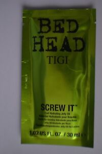 Sealed Bed Head Tigi Screw It Curl Hydrating Jelly Oil travel size 30ml sachet