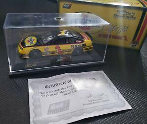 STEVE PARK #1 PENNZOIL 1:43 REVELL IN CASE 1998 NASCAR DIECAST