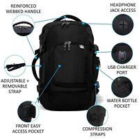 Aerolite Ryanair 40x20x25cm Cabin Carry On Holdall Shoulder Rucksack Smart Bag