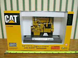 Caterpillar C15 Acert On-Highway Engine By Norscot 1/12th Scale >