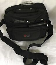 "Sport 4 zippers with phone pocket Carry Shoulder messenger Bag 12""x 9""  and 5"" W"