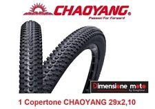 """Copertone CHAOYANG 29x2,10 H512g Tassellato Nero per Bici 29"""" MTB Mountain Bike"""