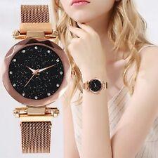 Luxury Women Watch NEW Design Magnetic Starry Sky Female Quartz WristWatch