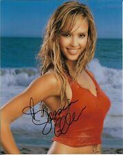 "JESSICA ALBA ""Into the Blue"" Autographed 8 x 10 Signed Photo HOLO COA"