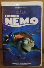 Finding Nemo Vhs, 2003 Disney Pixar Used/Like New