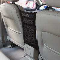 Car Dog Pet Barrier Guard Back Seat Safety Protector Mesh Net For SUV Truck Van!