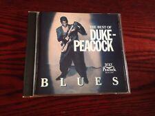 DUKE PEACOCK   -BEST OF - BLUES - V/A - CD - IMPORT