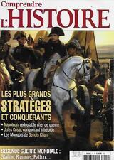 COMPRENDRE L'HISTOIRE N° 14 : LES PLUS GRANDS STRATEGES ET CONQUERANTS