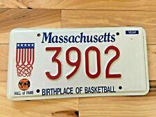 Massachusetts Birthplace of Basketball License Plate