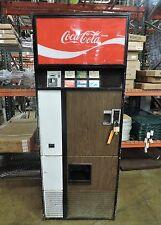 Vendo V-192-6 Vintage Pull Tab Coke Can Soda Pop Vending Machine - Late 60s-70s