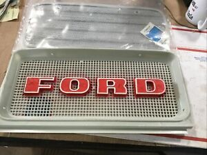 Nos C9NN-8A163-AG Grill Set, Fits Ford Tractor