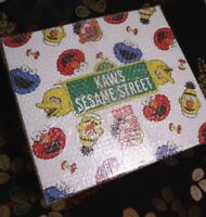 Kaws X UNIQLO Sesame Street LIMITED Complete Box & Special Item 100% Genuine