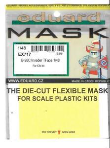 Eduard B-26C Invader Tface Masques Pour Icm Kit En 1/48 Ex 717 St