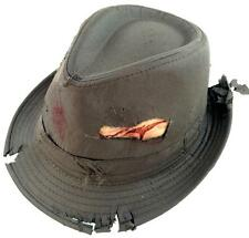 Dead Man Costume Bloody Fedora Zombie Hat Halloween Costumes Scary Accessory NEW
