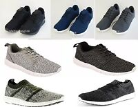 NEW crosshatch Trainers Light Weight sneakers pumps mesh running gym shoes 7-12