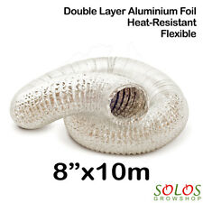 """8""""/200mm HYDROPONIC AIR DUCT ALUMINIUM DUCTING FAN CARBON FILTER GROW TENT"""