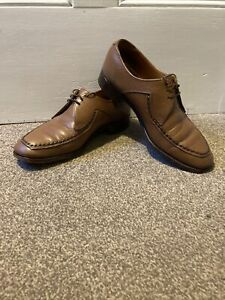 Loake  Leather Men's Shoes derby UK 7.5 EEE Fontwell Made In england
