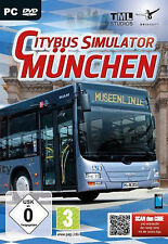 PC Computer Spiel ***** City Bus Simulator: München *********************NEU*NEW
