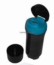 Tupperware Drinking Sports water Bottle Eco Friendly Flip up Top -750 ML - Black