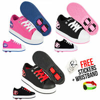 Heelys X2 Fresh Girls and Boys Wheeled Roller Shoes, 3 Choices