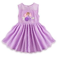 DISNEY STORE SOFIA FRILLY DRESS-UP PARTY DRESS SIZE 3 SPECIAL OCCASIONS NWT