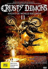 Crusty Demons: Night Of World Records II - NEW DVD