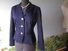 Ralph Lauren Blue Long Sleeve Blazer / Suit Jacket Size 12 NWT