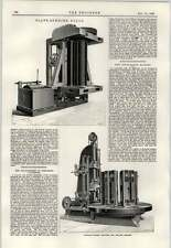 1897 Plate Bending Roles Boiler Making Machines Yorkshire Collieries Abandoned