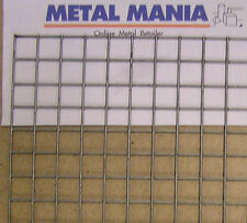 "Welded Mesh 1""x1""x12g Galv, 1045mm wide x 1220mm new."