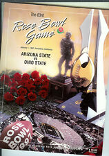 1997 Ohio State Arizona State Rose Bowl college football program
