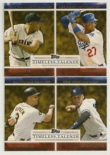 2012 Topps Timeless Talents Set of 25