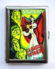 Spanish Dracula Cigarette Case Business card wallet horror movie goth vampire
