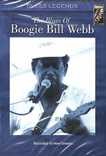 The Blues Of Boogie Bill Webb - ( DVD 2005 ) NEW / SEALED