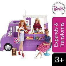 More details for barbie fresh 'n' fun food truck playset