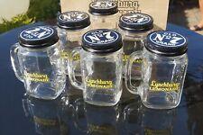 Jack Daniels Lynchburg Lemonade Gläser mit Schraubdeckel Limonade 480ml 6mal neu