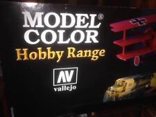 VALLEJO MODEL COLOR 17ML ACRYLIC PAINT 70.984 FLAT BROWN MODELBOUW MODELISME