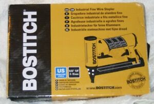 BOSTITCH UPHOLSTERY AIR STAPLER 21680B New In Box
