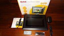 "Kodak Easyshare 8"" Digital Picture Frame SV811 High Resolution Widescreen MINT"