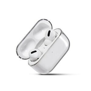 Clear Hard Plastic Protective Transparent Case Cover for Apple AirPods Pro