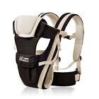 Newborn Infant Baby Carrier Breathable Ergonomic Sling Wrap Front Back Backpack